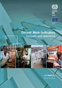 Decent Work Indicators: Concepts and definitions