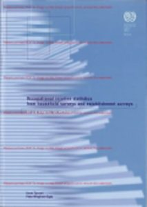 Occupational injuries statistics from household surveys and establishment surveys: An ILO manual on methods