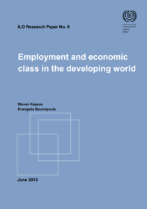 Employment and economic class in the developing world