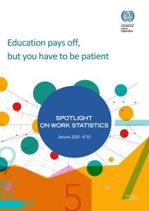 Spotlight on Work Statistics: Education pays off but you have to be patient