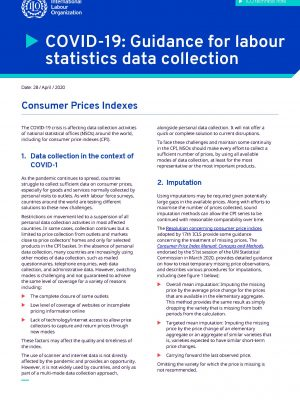 COVID-19 Guidance for labour statistics data collection: Consumer Price Indexes