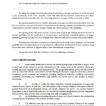 Resolution concerning an integrated system of wages statistics