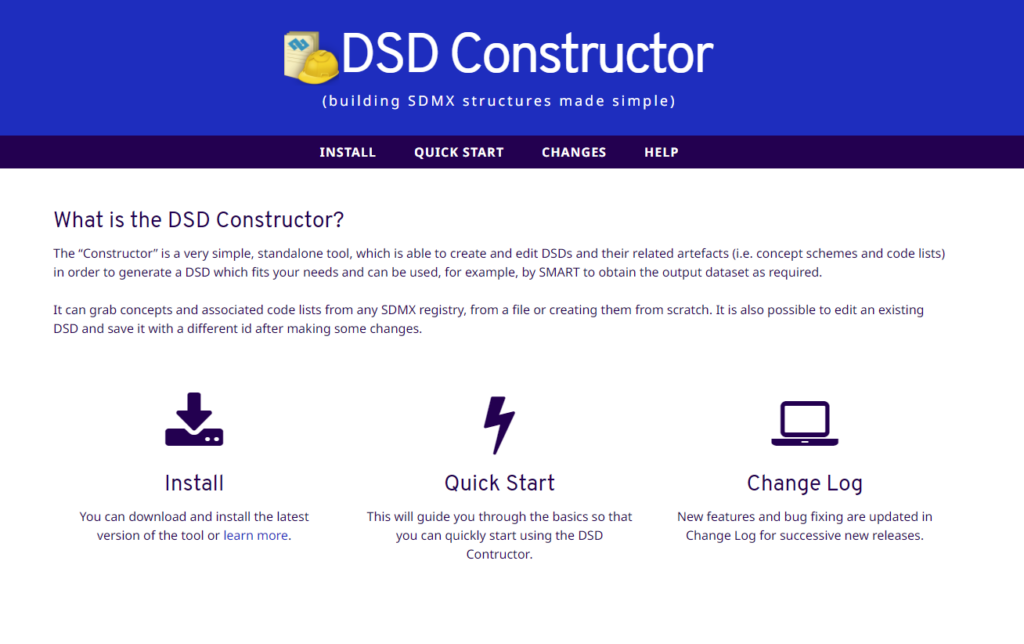 ILO DSD onstructor