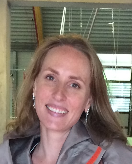 顔写真:ILO統計局マリー=クレア・ソダーグレン上級経済専門官
